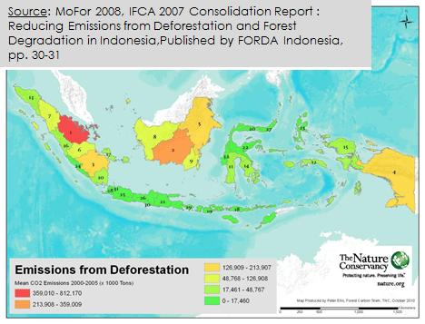 deforestasi, mitigasi perubahan iklim