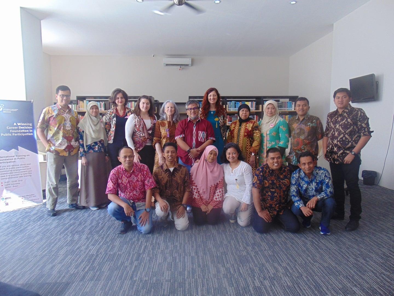 pelatihan dasar-dasar partisipasi publik oleh IAP2 Indonesia