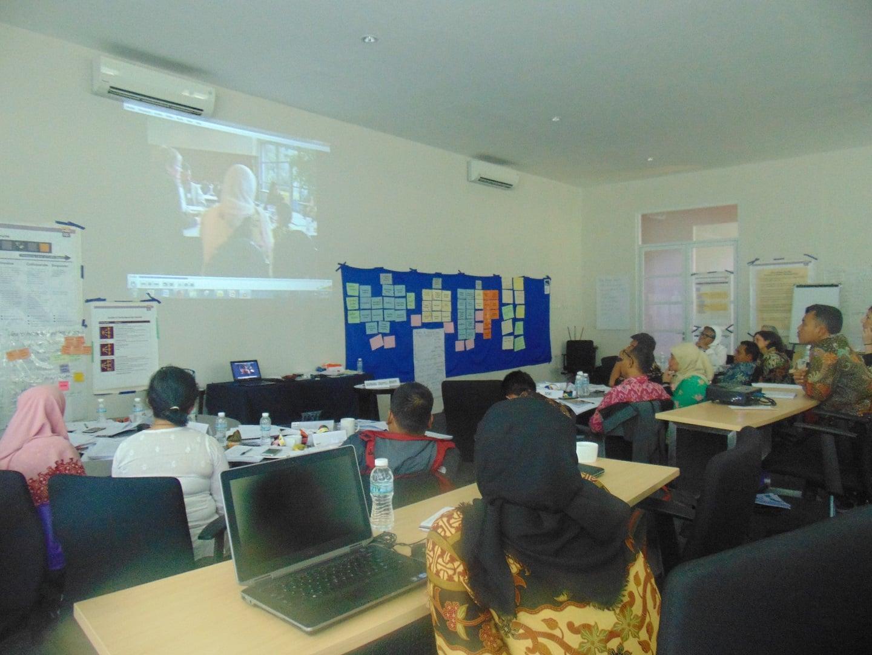 hari ke lima dari sesi pelatihan dasar-dasar partisipasi publik yang diselenggarakan IAP2 Indonesia