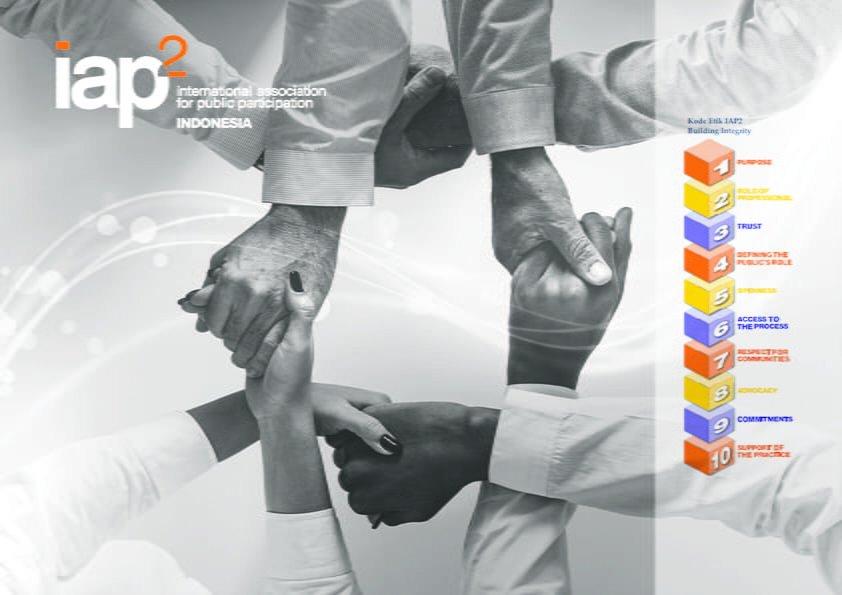 teori kode etik partisipasi publik IAP2