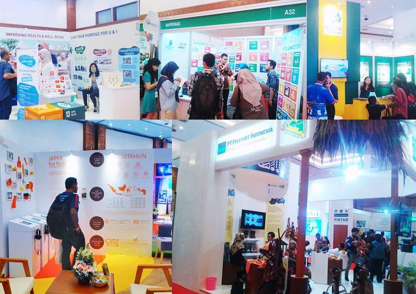 Acara Pameran Filantopi se Indonesia 2018 di JCC Jakarta