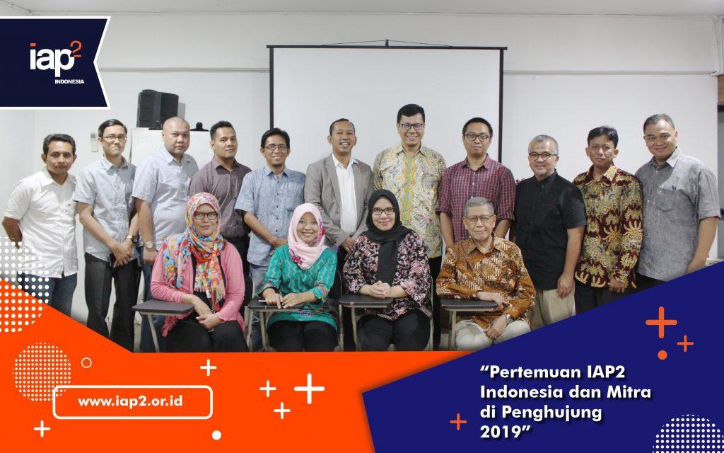 Pertemuan IAP2 Indonesia dan Mitra di Penghujung 2019
