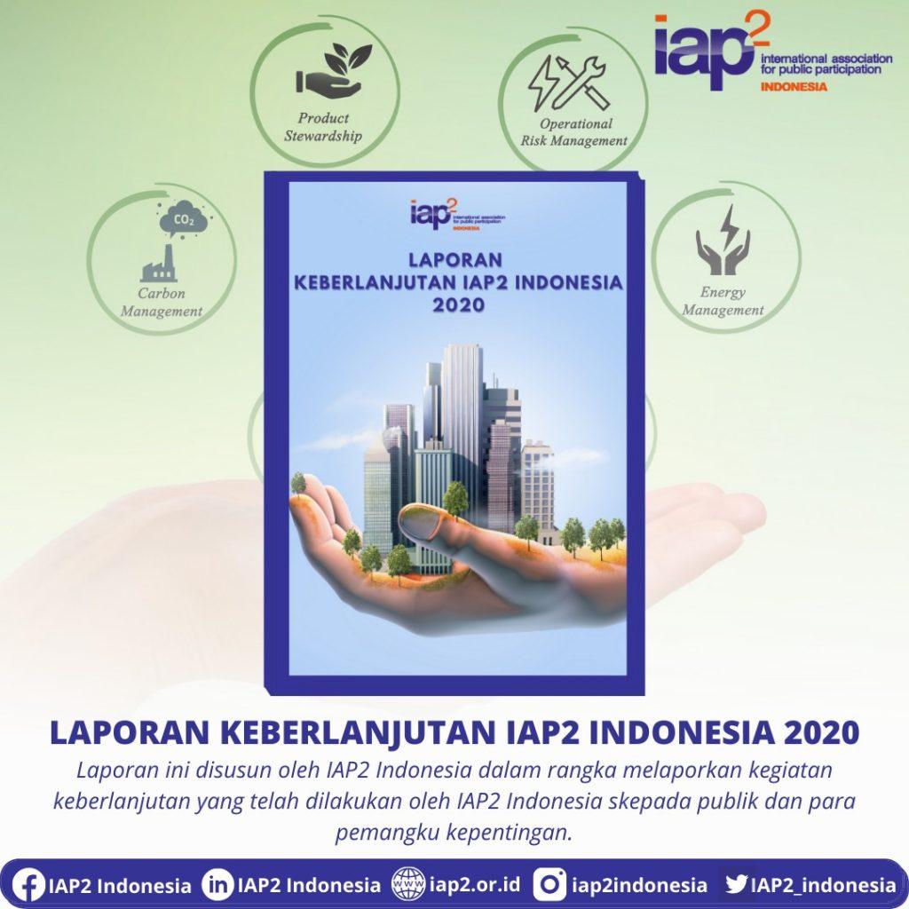 Laporan Keberlanjutan IAP2 Indonesia Tahun 2020